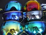 Горнолыжные очки. Маска для сноуборда. Снегохода