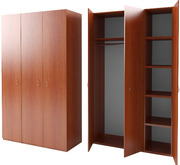 Деревянные гардеробные шкафы,  Шкаф ДСП с антресолью